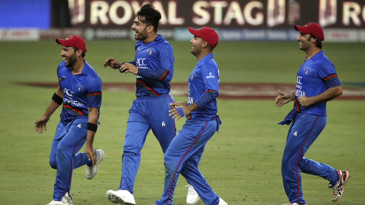 With seven runs required off the last over, Afghanistan turned to its main man Rashid Khan. India scored six runs off the first four balls. On the penultimate ball Ravindra Jadeja mistimed his shot to give Najibullah Zadran an easy catch. With fall of Jadeja's wicket the match ended in a tie. (Image: AP)