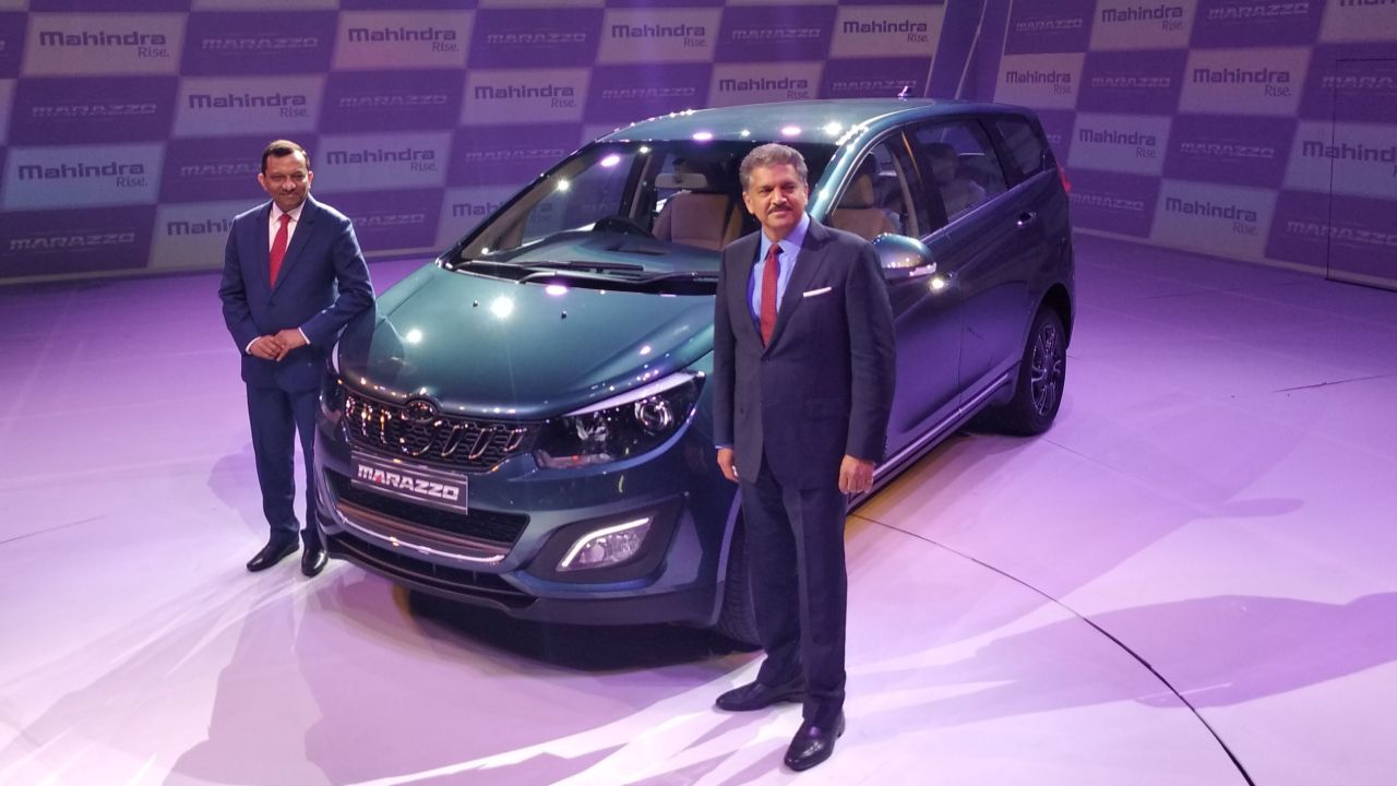 Mahindra & Mahindra has launched the Mahindra Marazzo multi-utility vehicle (MUV) at a starting price of Rs 9.99 lakh (ex-showroom)