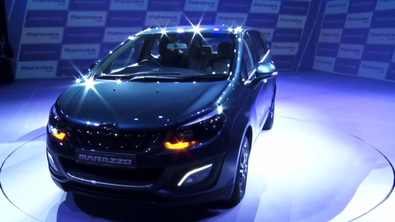 The Marazzo takes inspiration from the shark. This shows in the streamlined shape of the car along with the shark teeth-like grille inserts and a low aggressive stance