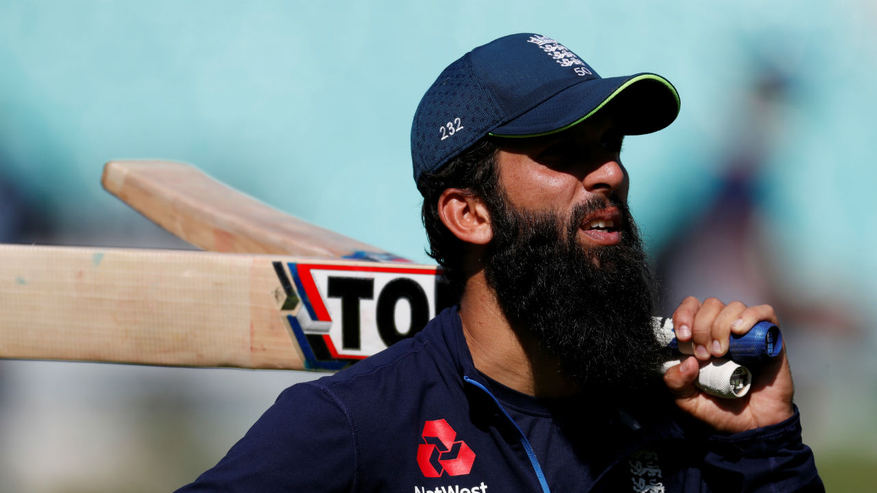 Moeen Ali | Moeen Ali was promoted at no.3 during England's second innings of fourth Test. Although the move did not prove be a successful one but Ali has got his captain's backing. The all-rounder is set to bat at no.3 in the final Test. He would also be entrusted to pick wickets. The player was adjudged Man of the Match in the fourth Test. He scored 40 runs and picked up 9 wickets. (Image - Reuters)