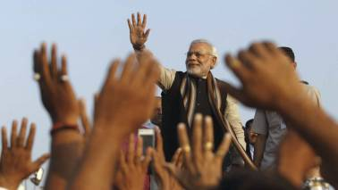 Congress workers, planning to show black flags to PM Narendra Modi, detained