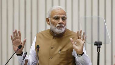 PM Narendra Modi says Congress 'weakening' judiciary
