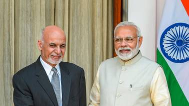 PM Narendra Modi holds talks with Afghanistan President Ashraf Ghani