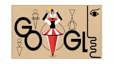 Google Doodle of the Day: German artist Oskar Schlemmer