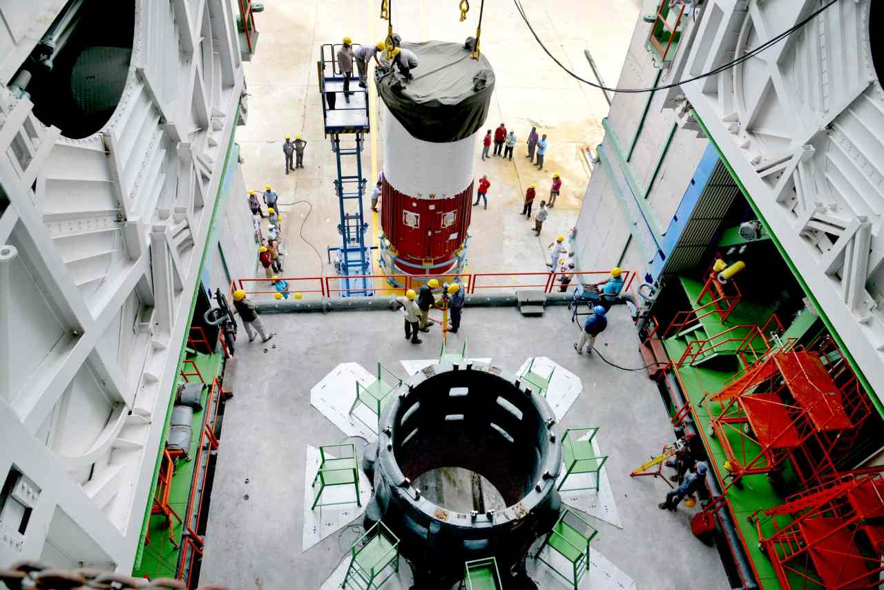 PSLV-C42 put into orbit Surrey Satellite Technology Limited's (SSTL) NovaSAR and S1-4, weighing 450 kg each. (Image: ISRO)