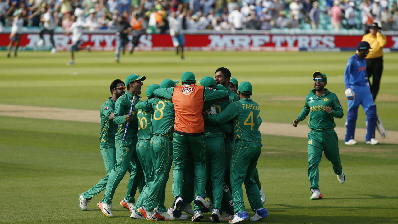 The record for the biggest margin of victory in India-Pakistan ODI encounters belongs to Pakistan. The margin of victory is 180 runs and it came in the final of ICC Champions Trophy 2017 played at The Oval, London. Batting first, Pakistan made 338/4. In reply, the Indian innings folded for 158 thanks to bowling efforts of Mohammad Amir and Hasan Ali (Image: Reuters)