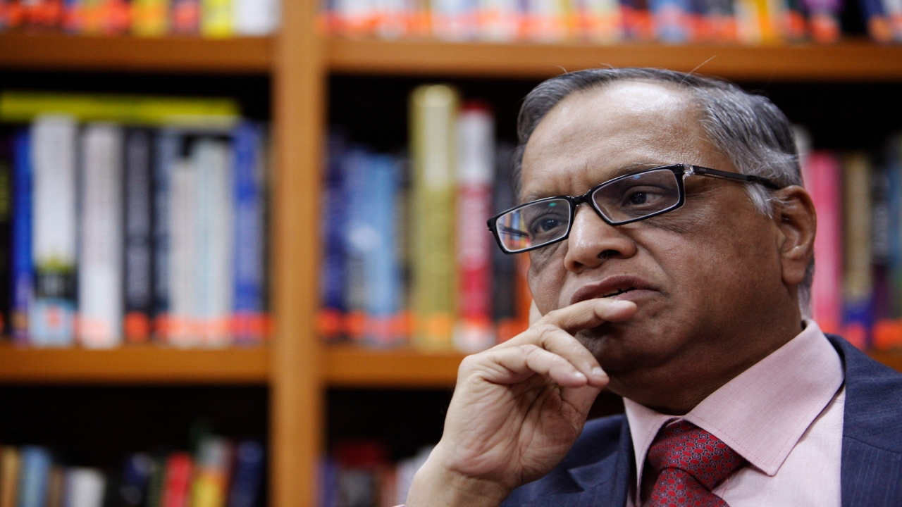 NR Narayana Murthy | Co-founder of Infosys | Net worth: $2.2 billion | One of the pioneering figures of the Indian IT boom does not know how to drive a car. The Bangalore-based entrepreneur prefers maintaining a low profile and travels on the company bus along with Infosys employees, on Saturday– his driver's weekly holiday. His wife drives him to the bus stop, from where he boards the bus to work. (Image: Reuters)
