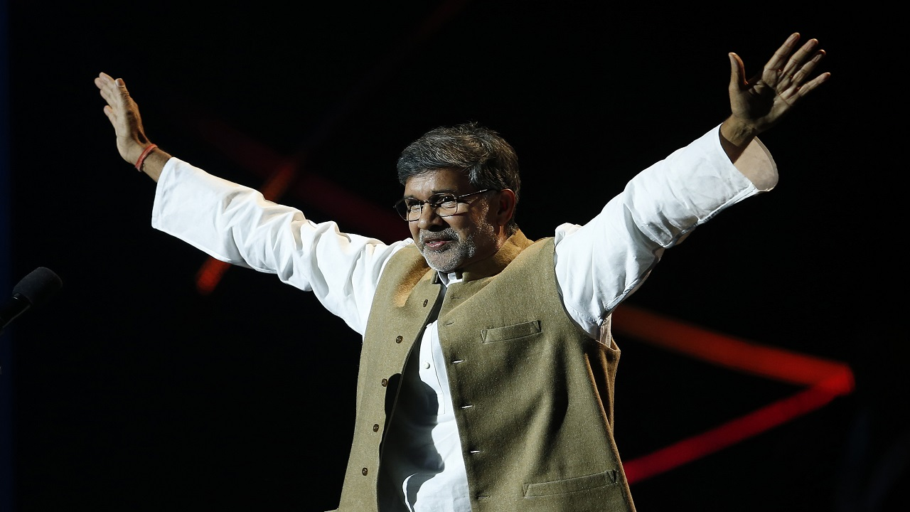 Answer: Kailash Satyarthi (Image: Reuters)