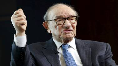Beginning to see first signs of inflation through tighter labour market: Alan Greenspan