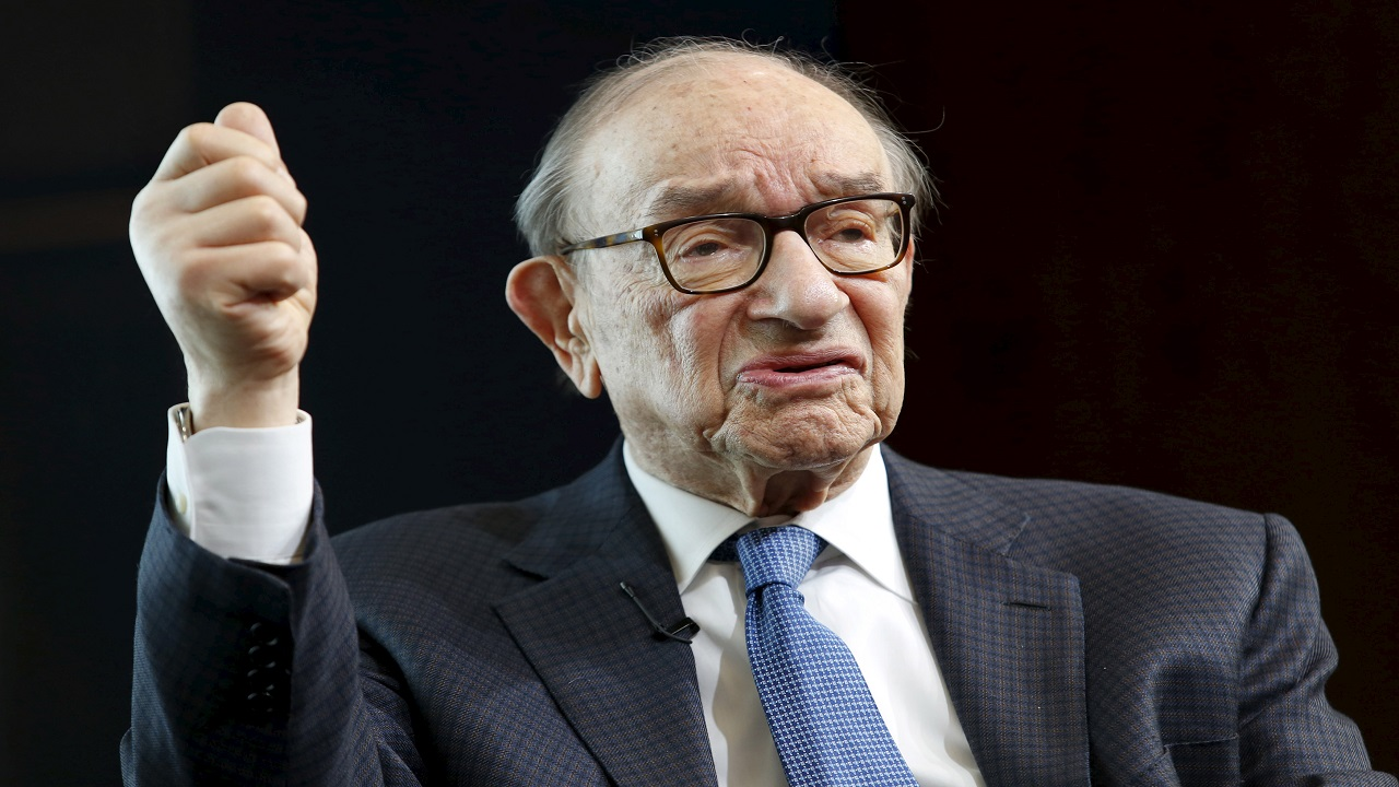 Answer: Alan Greenspan (Image: Reuters)