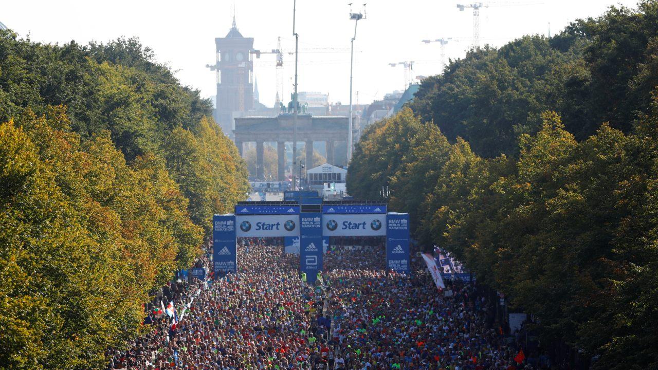 General view of the Berlin Marathon. (Image: Reuters)