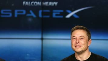 SpaceX launches first satellites for Elon Musk's Starlink internet service