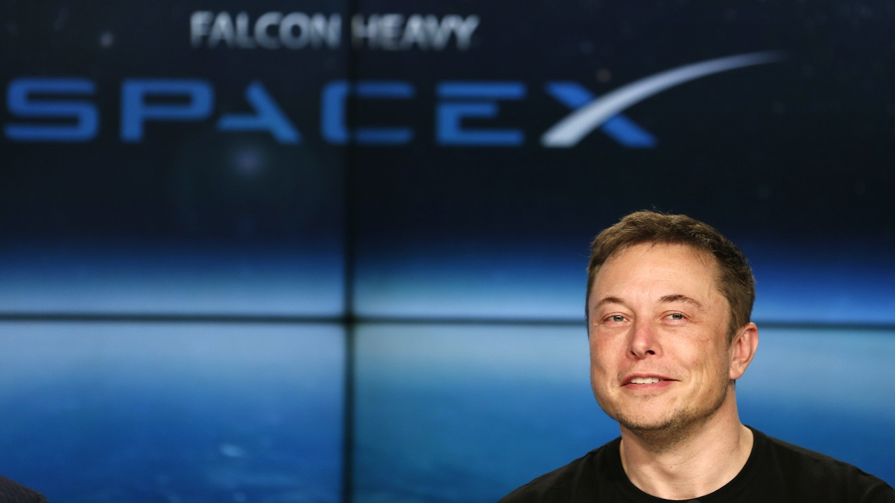 Answer: Space X & Elon Musk (Image: Reuters)