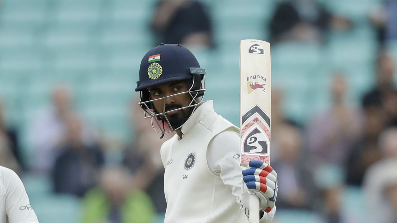 Indian opener KL Rahul completed his half-century early on Day 5. The right-handed batsman looked solid at the crease and reached his fifty off just 57 deliveries as he looked to attack the English bowlers. (Image: AP)