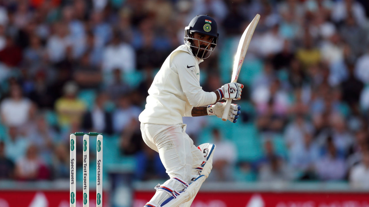 Towards the end of the day K L Rahul went on the counterattack to give the Indian chase a semblance of respectability. He was given support from the other end by Ajinkya Rahane. Rahul's 46 off 51 balls meant that India's score read 58/3 at stumps on Day 4. (Image: Reuters)
