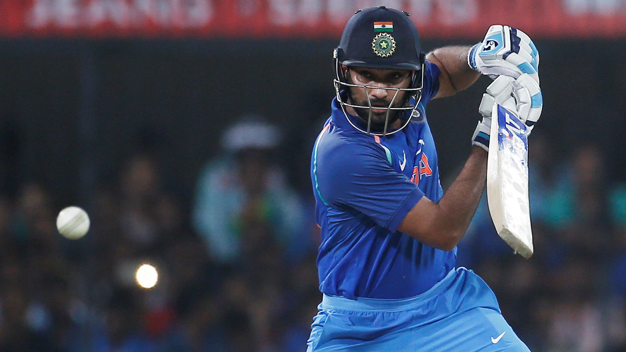 Most fours in ODIs | Rohit's 33 fours hit during his record-breaking 264-run knock against Sri Lanka is another ODI record. Sachin Tendulkar and Virender Sehwag share the second spot on this list with 25 fours. (Image: AP)