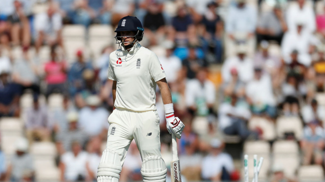 England captain Joe Root too could not stay in the middle for long after Lunch as he was run out in spectacular fashion by Mohammed Shami. (Image - Reuters )
