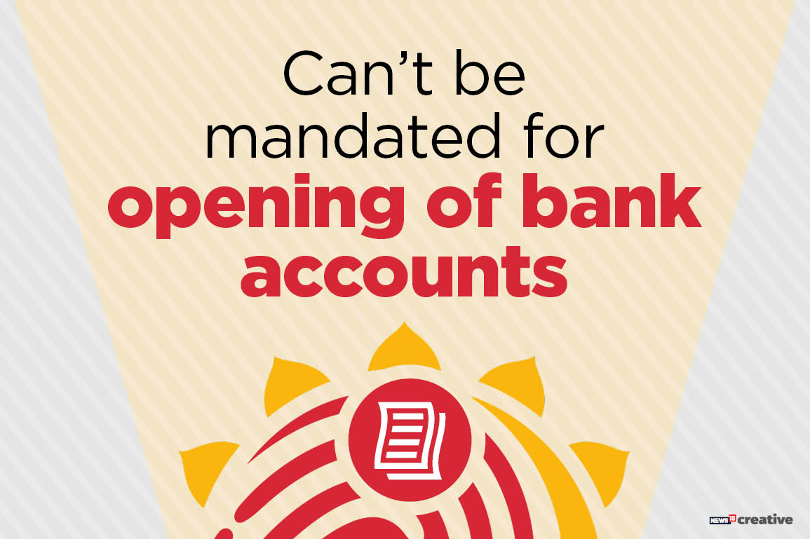 It is no longer necessary to furnish Aadhaar information to open a bank account. This means that those who are yet to be enrolled will not be excluded from accessing financial services.