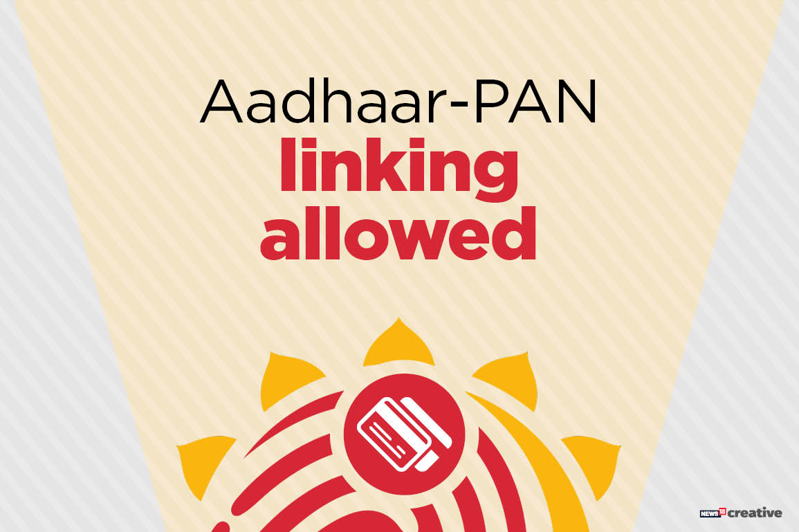 The PAN card, which is a basic identifier of an individual's financial holdings, will have to be linked with Aadhaar. Since bank accounts are linked to PAN card information, the Aadhaar database will indirectly be linked to bank accounts of citizens. This is aimed at the verification of income tax claims.