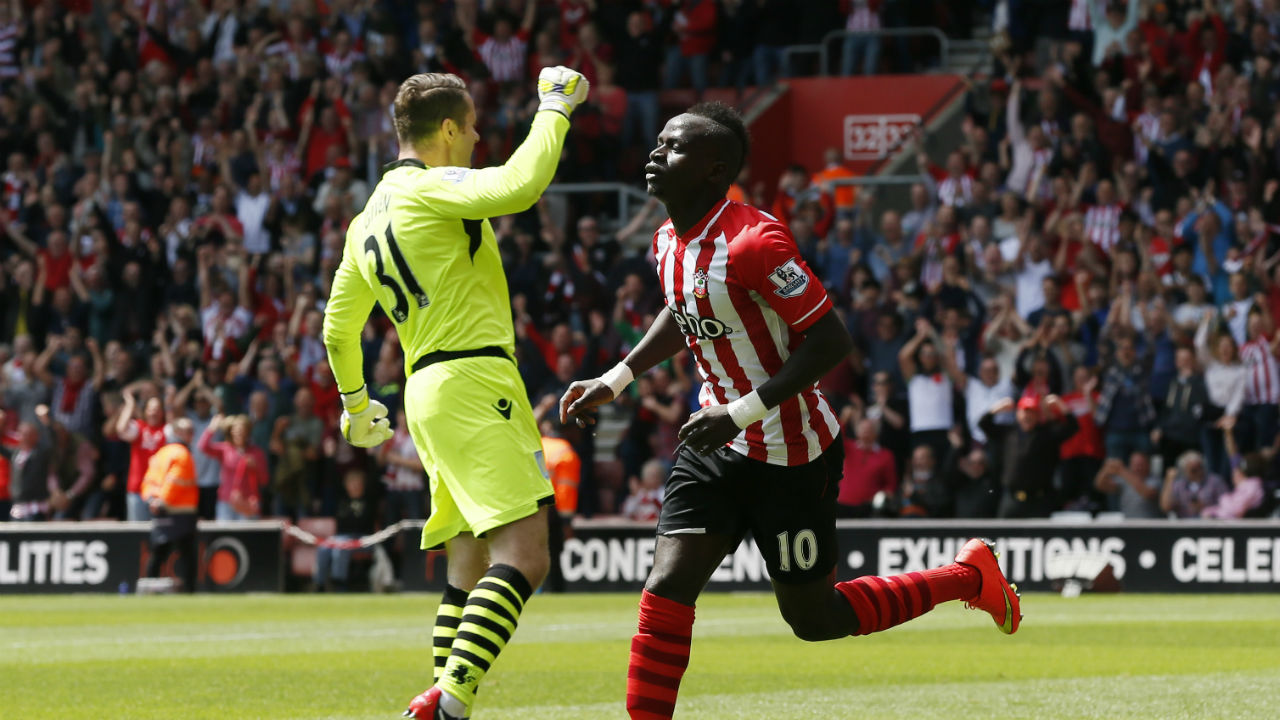 Sadio Mane holds the record for fastest hat-trick in Premier League history. The Senegalese forward scored three goals against Aston Villa while playing for Southampton in the 2014-15 season. Mane scored his hat-trick in two minutes and 56 seconds, beating the previous record – four minutes and 33 seconds by Robbie Fowler for Liverpool against Arsenal in 1994 – by a minute and 37 seconds. (Image - Reuters)