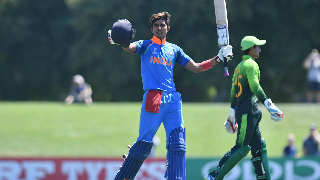 Shubman Gill | The 19-year old was the vice-captain of the World Cup winning U-19 squad and scored 372 runs in five innings at an average of 124. A technically sound batsman, Gill was also named player of the tournament and carried that form into the IPL where he was picked up by Kolkata. He impressed fans with his maturity at the crease, and extensive repertoire of shots. He has managed to pile on the runs despite the limited opportunities afforded him as he bats lower down the order. Since then, he has been turning heads while playing for Punjab and India A during unofficial Test matches against Australia. (Image: icc-cricket.com)