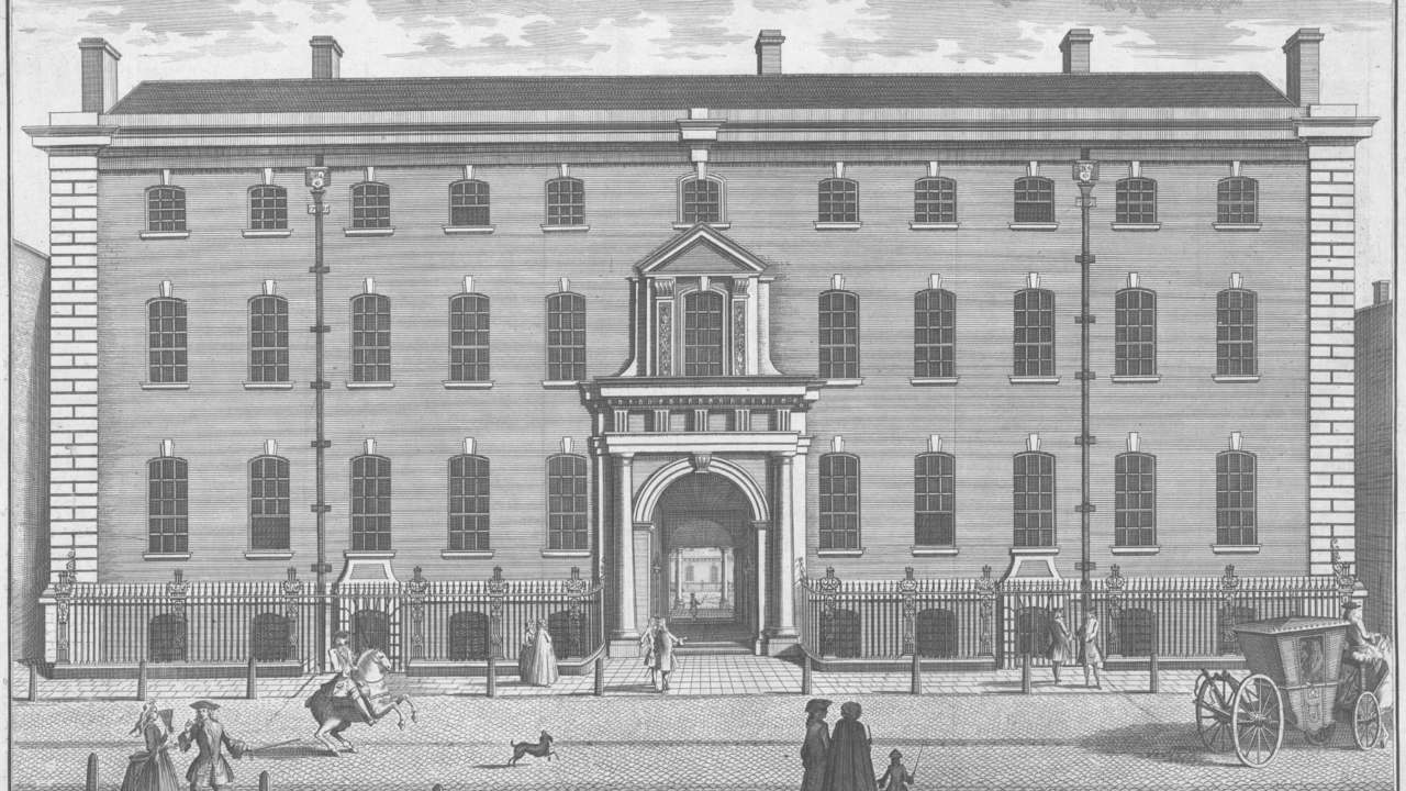 South Sea Company | Country: United Kingdom | Valuation: $4 trillion | Year: 1700s | Pictured here is South Sea House, the company's headquarters in London. (Image: Wikimedia Commons)