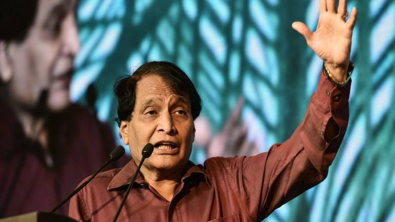 Suresh Prabhu Seeks Priority Sector Tag For Export Credit From Finance Minister