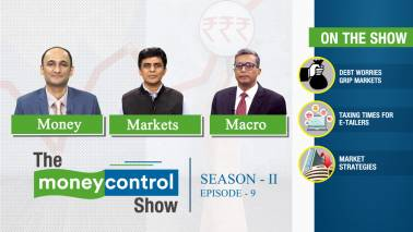 The Moneycontrol Show | Debt woes trouble markets; 1% TCS For e-tailers; triggers for investors