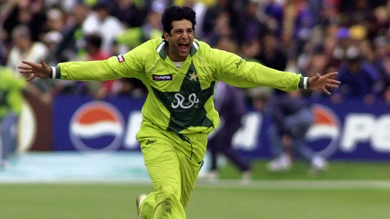 With 60 scalps, Pakistan's Wasim Akram holds the record for most wickets in India-Pakistan ODI history. The former left-arm pace bowler has achieved the feat in 47 innings with his best bowling effort being 4/35 (Image: Reuters)
