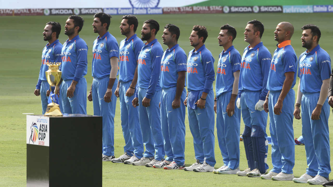 The Super Four stage of the Asia Cup started with India squaring off against Bangladesh. Indian captain Rohit Sharma won the toss and opted to bowl first. India went into the match with one change, as the injured Hardik Pandya was replaced by Ravindra Jadeja. Bangladesh who had rested Mushfiqur Rahim and Mustafizur Rahman for Thursday's inconsequential game against Afghanistan, brought back the pair in place of batsman Mominul Haque and left-arm seamer Abu Hider. (Image: AP)