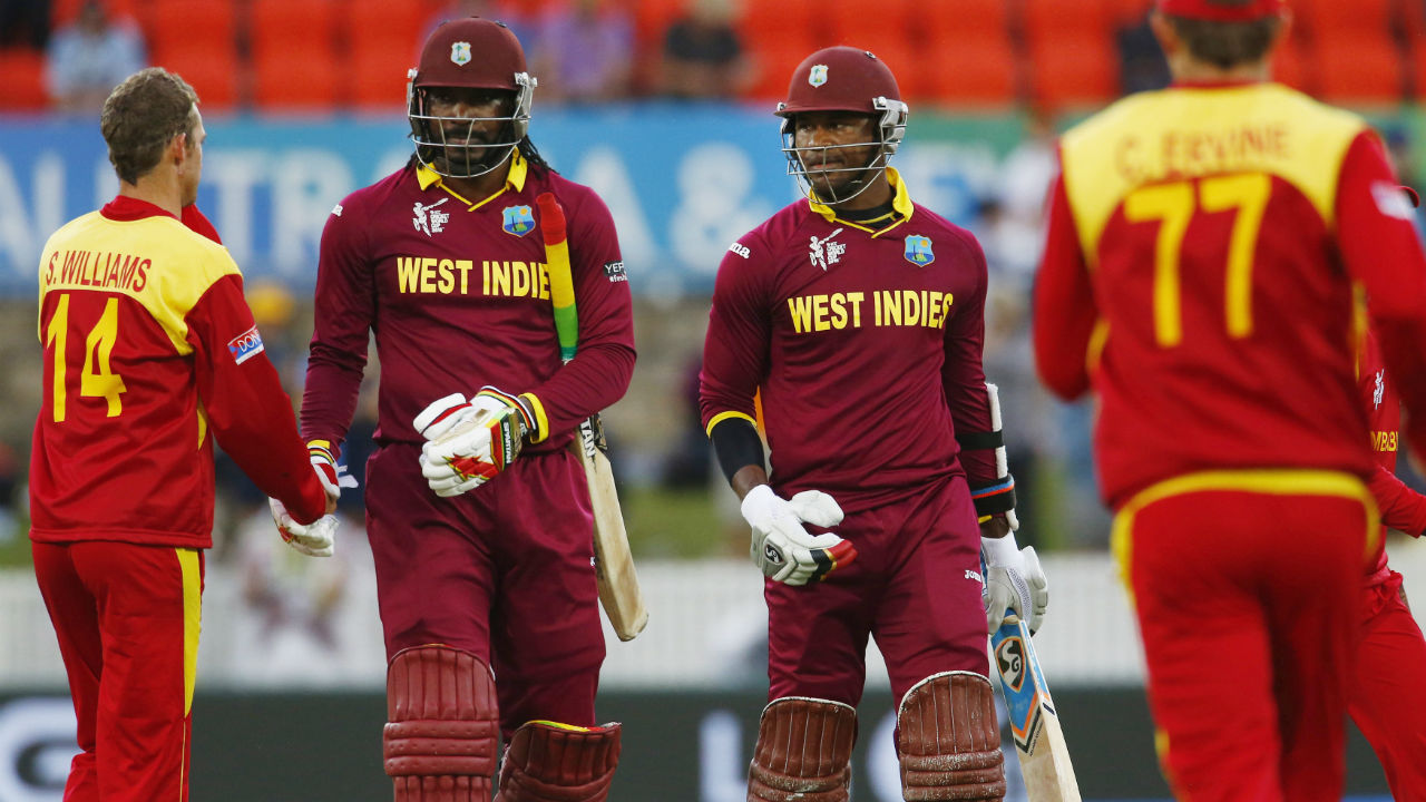 Highest partnership for any wicket in ODIs | After opener Dwayne Smith was dismissed for a duck in West Indies' Pool B match against Zimbabwe at the 2015 World Cup, Chris Gayle (215) and Marlon Samuels (133 not out) stitched together an mammoth 372-run stand which is the highest partnership for any wicket in ODIs. The match is also remembered for Gayle scoring the fastest ODI double hundred off just 138 deliveries. (Image: Reuters)