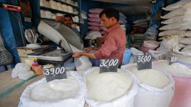 Sugar stocks rally 5-15% on likely financial boost from govt for the industry