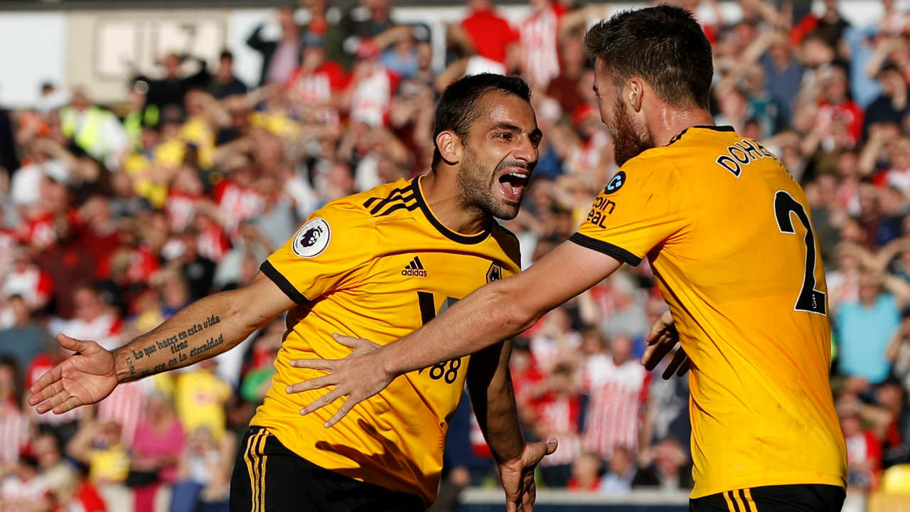 Wolverhampton Wanderers 2 – 0 Southampton |Second-half substitutes Adama Traore and Ivan Cavaleiro combined to open the scoring in the 79th minute with Cavaleiro getting a goal with his first touch in the Premier League. Jonathan Castro Otto then sealed all three points for the Wolves when he converted Matt Doherty's cut-back into the area. (Image: Reuters)