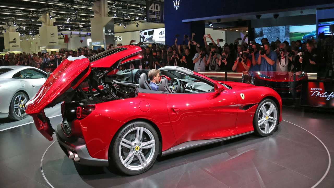 The car's name is derived from an Italian fishing village which is said to be one of the most beautiful and picturesque in the country, much like the car itself. It is a convertible with a retractable hardtop and has more or less the same dimensions as its predecessor. (Image credit: Ferrari)