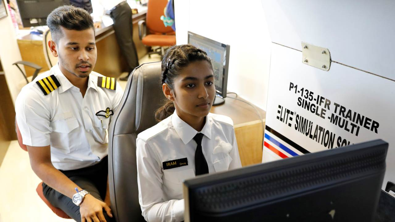 One way to meet this imminent dearth in supply is that more women take up the front seat in cockpits. In the 21st century, commercial aviation continues to be a boys' club. According to data from the International Society of Women Airline Pilots, only five percent of the world's commercial airline pilots are women. (Image: Reuters)