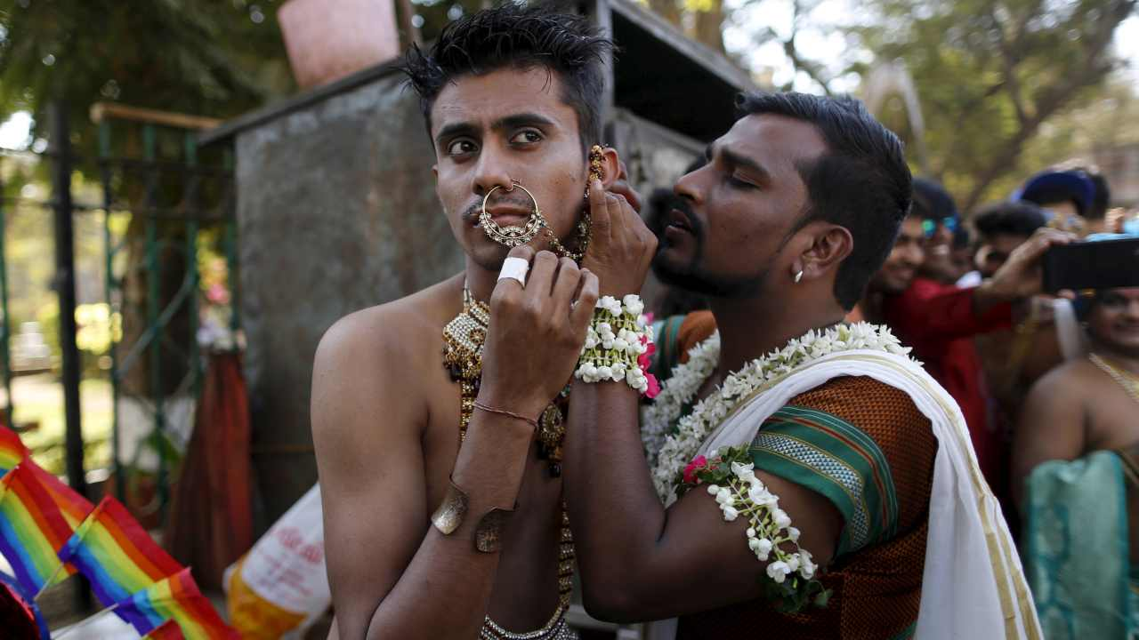 Legal sanction to homosexuality | After taking into account a clutch of petitions challenging criminalisation of homosexuality, the Supreme Court on September 6, deemed Article 377 of the Indian Penal Code unconstitutional. The five-judge constitutional bench decriminalised gay sex between consenting adults, further declaring that victimising homosexuals is unconstitutional, and henceforth, a criminal act. Case: Navtej Singh Johar & Ors. Vs. Union of India through Secretary, Ministry of Law and Justice (Image: Reuters)