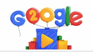 Happy birthday Google! Search engine celebrates 20th anniversary with cute doodle