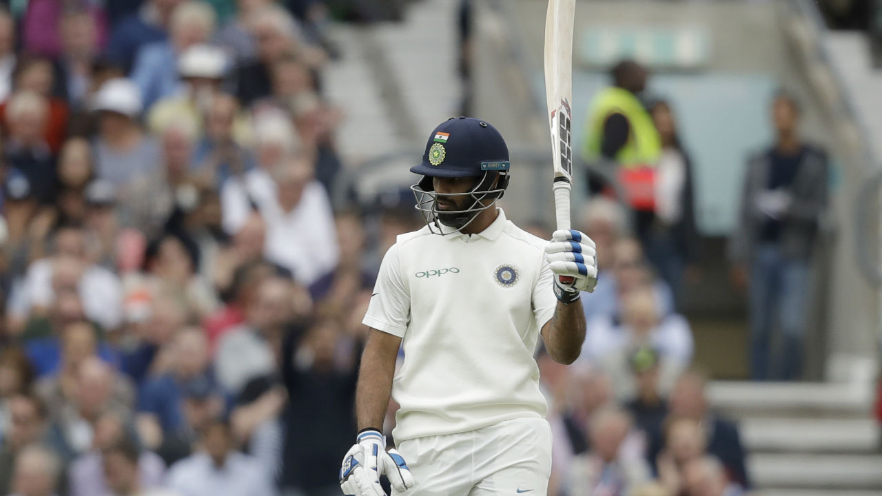 Hanuma Vihari showed some real grit with the bat as he completed his half century from 104 balls during the first session. He was lucky to survive two close calls for LBW yesterday but looked much more solid in the first session playing some attractive shots during his innings. (Image: AP)