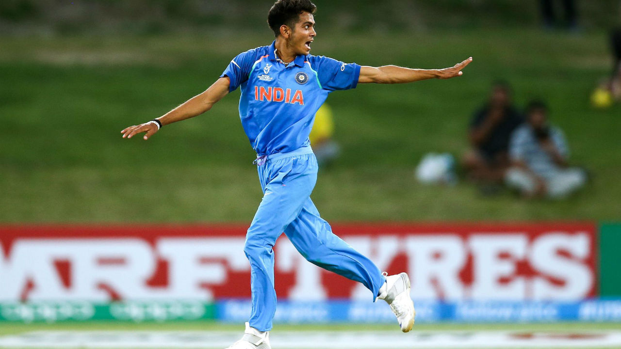 Kamlesh Nagarkoti | One of the most exciting talents that emerged from the Indian camp after the Under-19 World Cup, Kamlesh caused quite a stir as he consistently crossed the 140 km/h mark and even got the ball to swing dangerously. He was snapped up for Rs 3.2 crore by the IPL team Kolkata Knight Riders, making him the most-valued player from the U-19 team. Unfortunately, he couldn't feature in the tournament due to a foot injury. The pacer barely made a recovery from that setback when a back injury flared up, forcing him to travel overseas for treatment. (Image: icc-cricket.com)