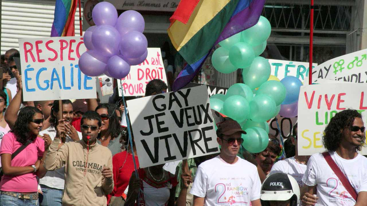Mauritius | According to Section 250 of the Penal Code 1838, any individual who engages in sodomy is liable to penal servitude for a duration of not more than five years. Over the years, the Law Reform Commission coupled with pro-gay activists have tried to repeal the outdated law, but in vain. However, in 2017, the government stated that it would address the issue after due consideration, albeit Section 250 will stay. (Image: Reuters)