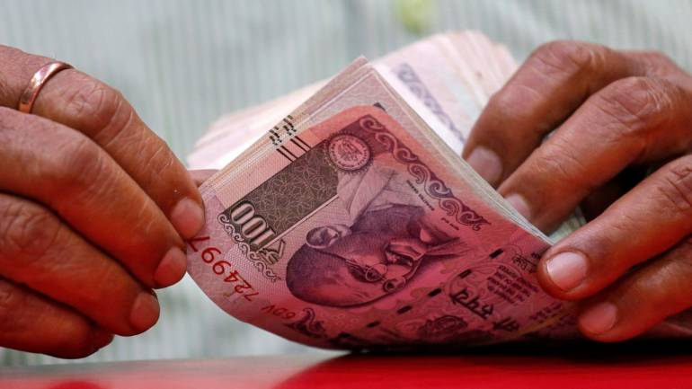 Rupee slips 70 paise against dollar in early trade