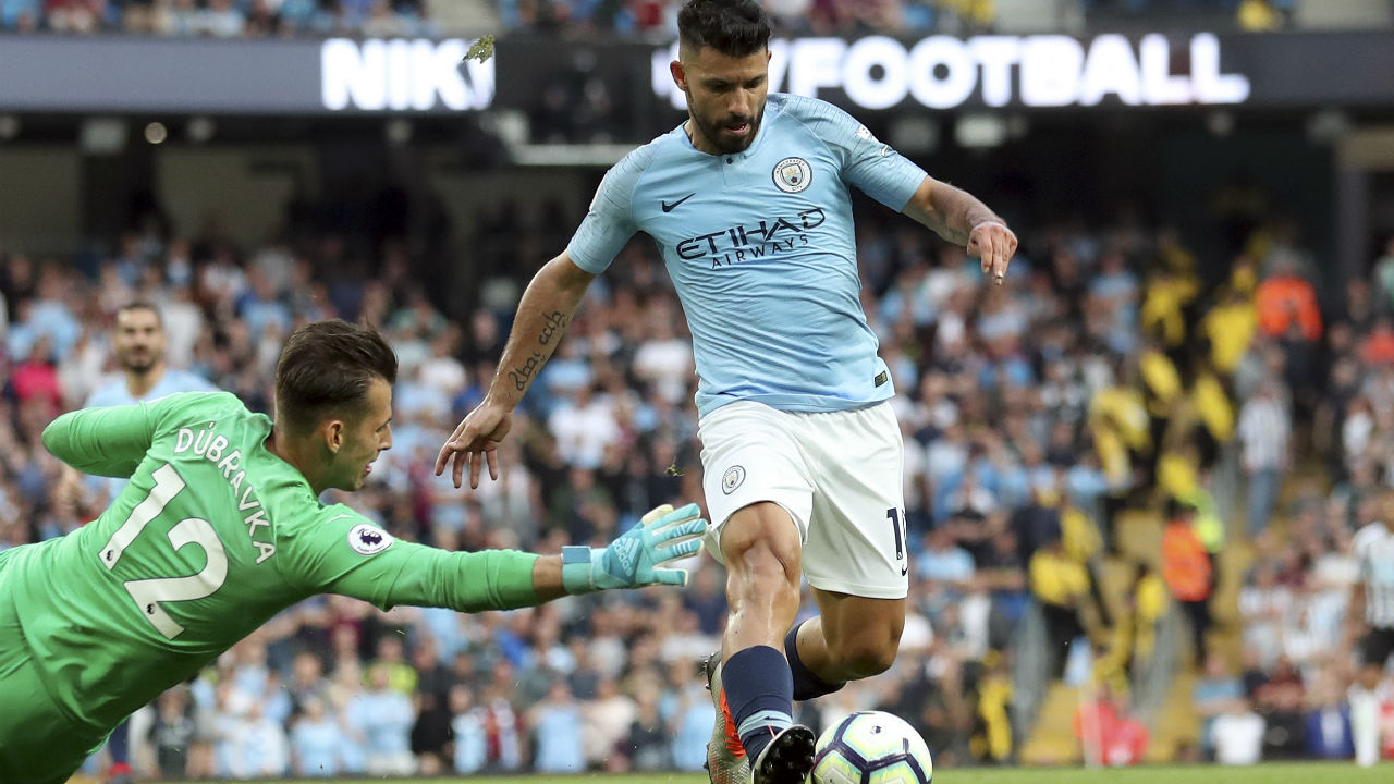 Sergio Aguero (Manchester City ) | Goals scored - 3 | Assists - 2| Hattricks - 1 | Minutes played - 389| Minutes per goal - 129 (Image:AP)