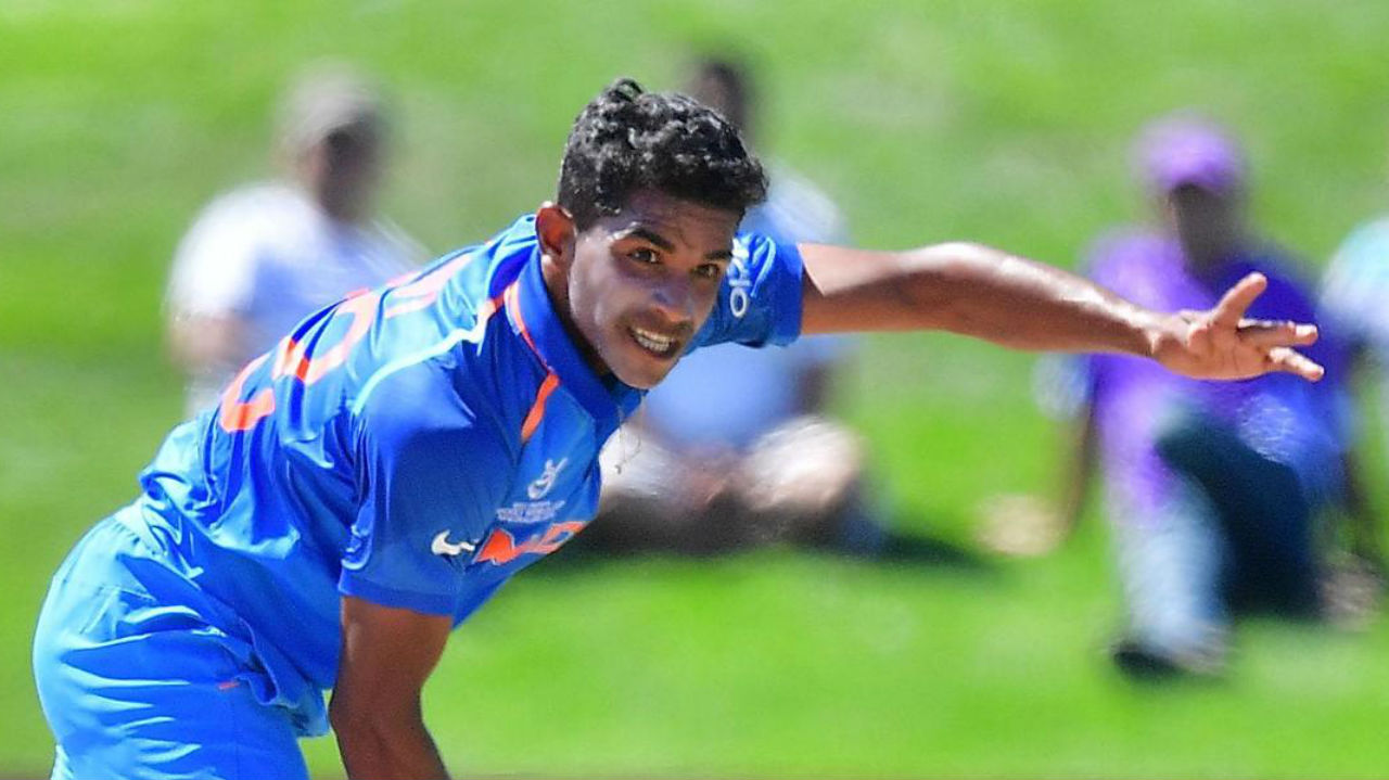 Shivam Mavi | Another pacer from the U-19 squad who consistently clocks upwards of 140 kmph, Shivam Mavi is known to unsettle batsmen with his sheer pace. Mavi was the second highest-bid player from the U-19 squad as the Kolkata Knight Riders paid a whopping Rs 3 crore for his services in the IPL. On September 19, Mavi became only the eighth bowler to take a hat-trick in the Vijay Hazare Trophy. (Image: icc-cricket.com)