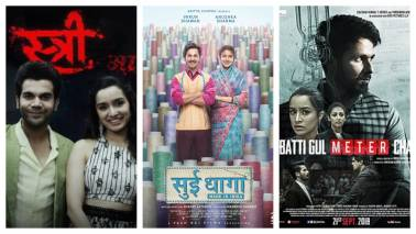 September turns out to be an eventful month for film industry, Stree, Nun, Sui Dhaaga make a mark
