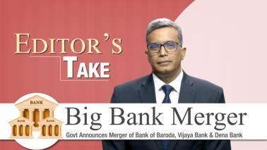 Editor's Take I Merger of banks