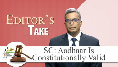 Editor's Take | Decoding the Aadhaar verdict