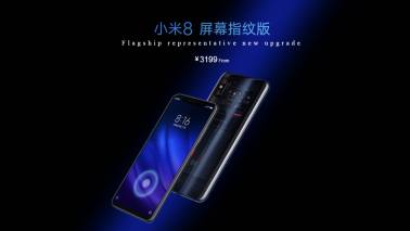 Xiaomi launches Mi 8 Pro with in-display fingerprint sensor, Mi 8 Lite edition smartphones