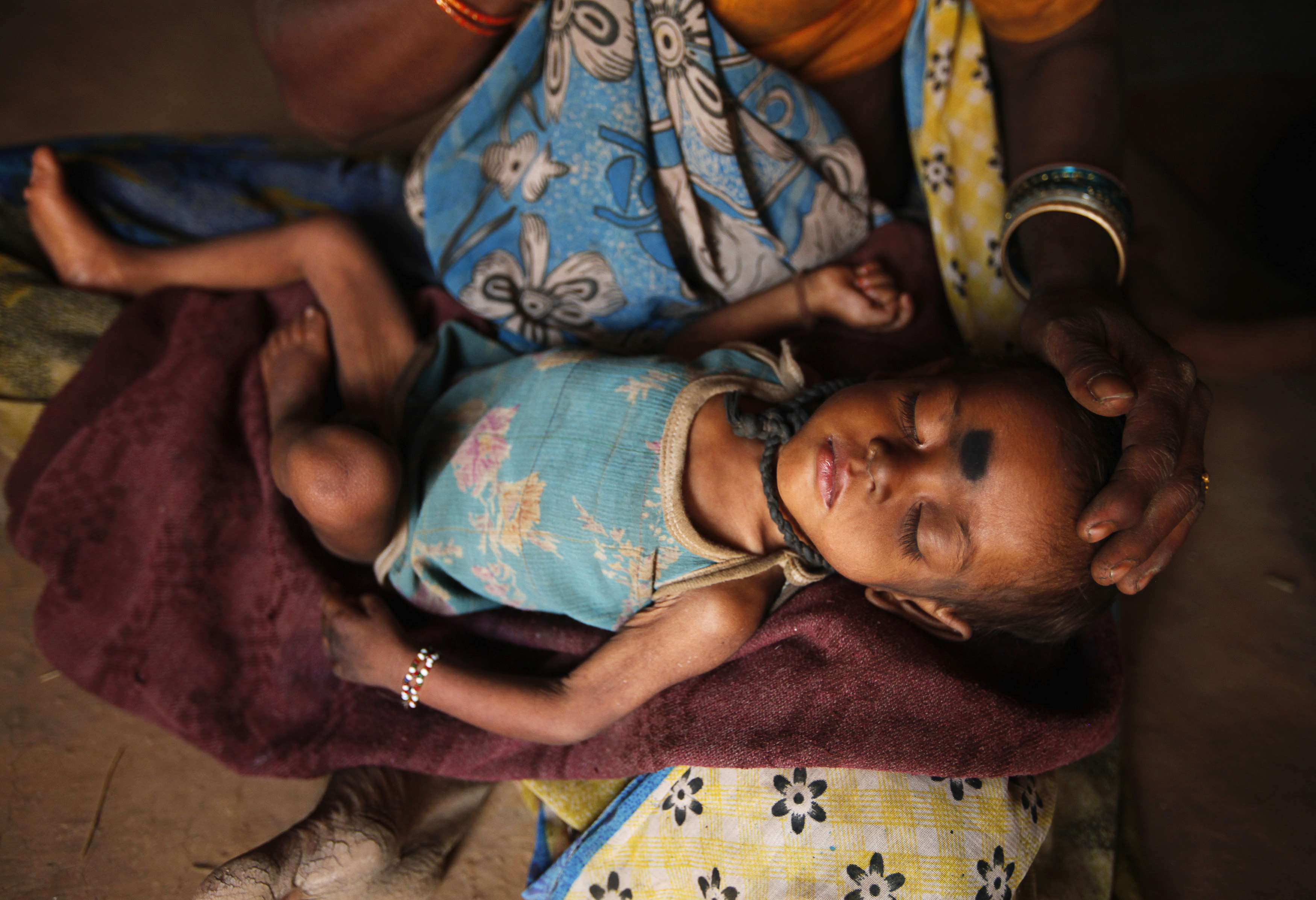 Around 44% of children under the age of 5 are underweight in India. (Image: Reuters)