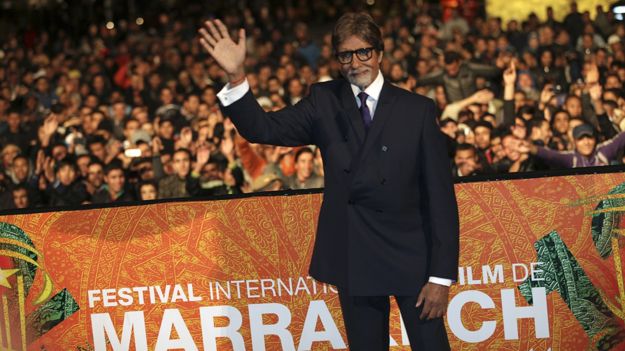 In Duff and Phelps celebrity brand value ranking of 2017, Amitabh Bachchan ranks number 8 with the brand value of $36 million. (Image: Reuters)
