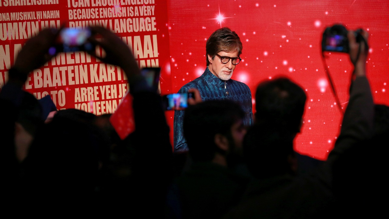 Apart from the movie industry and endorsements, Big B has made a mark on television as well with shows like Kaun Banega Crorepati. (Image: Reuters)